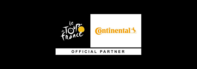 Continental officiel Tour de Franc partner
