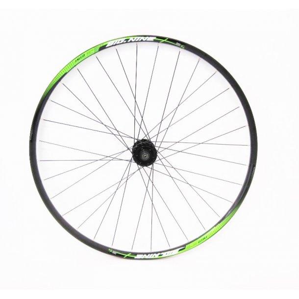 Forhjul 2016 Big.Nine 300 Sort/grøn/hvid
