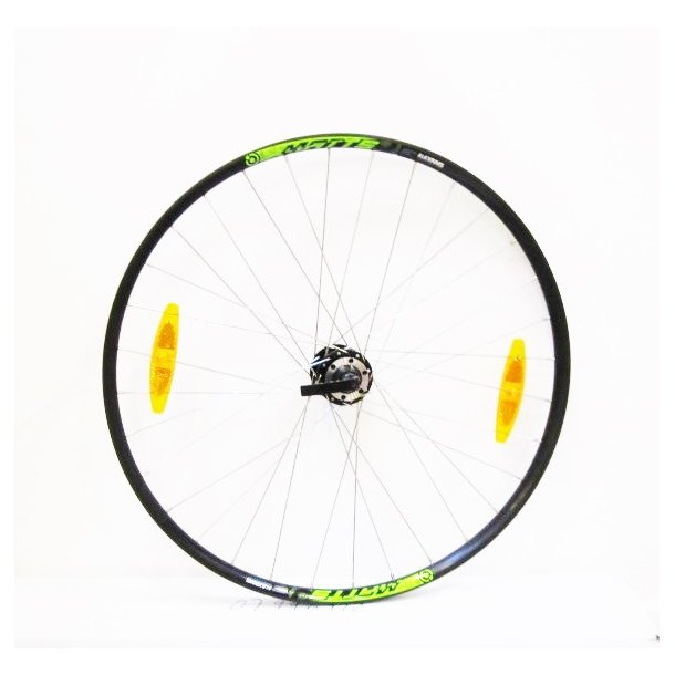 Forhjul 2017 Merida Matts 20-D, Sort/grøn