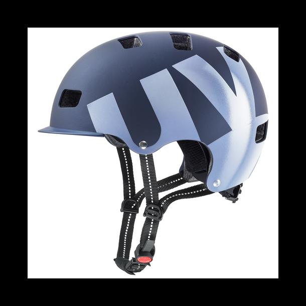Uvex hlmt 5 Bike pro, Mørk blå mat