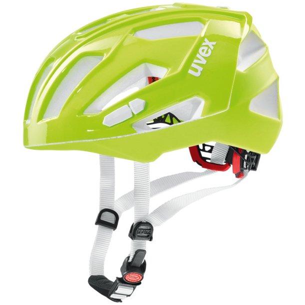 Uvex Quatro XC Neon Lime shiny/mat