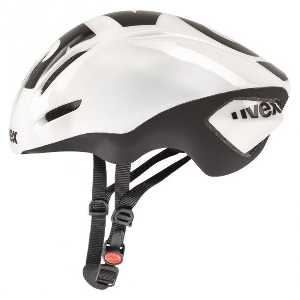 Uvex EDAero, Hvid - sort